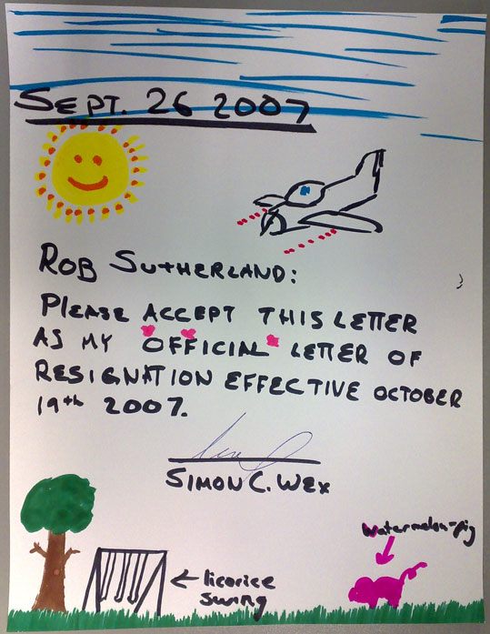 Resignation letters funny selol ink resignation letters funny expocarfo Image collections